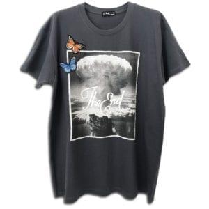 14u δημοφιλής χειροποίητη μπλούζα t-shirt στάμπα εκτύπωση για άντρες και γυναίκες μουσική καλλιτεχνική δημιουργία ελπίδα καταστροφή