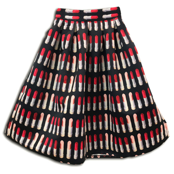 14u clothes accessories skirt ballon makeup lipstick spring