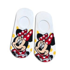14u-clothes-accessories-socks-white-looney-tunes-minnie-disney-sports-home-gym-ancle-school-girl-