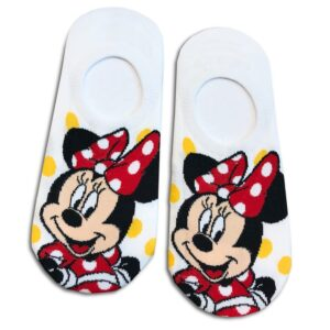 14u-clothes-accessories-socks-white-looney-tunes-minnie-disney-sports-home-gym-ancle-school-girl