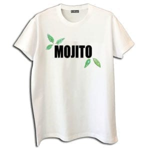14u clothes accessories tshirt mojito cocktail handmade swarovski crystals white