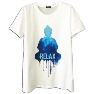 14u ρούχα αξεσουάρ μπλούζα ανδρικό γυναικείο unisex t shirt κεντημένο κρυσταλα swarovski πολυτελείας στάμπα καλοκαιρινή relax buddha εκτύπωση λογότυπο