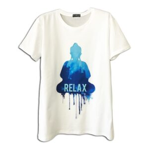 14u-clothes-accessories-tshirt-white-print-relax-buddha-art greek product gift