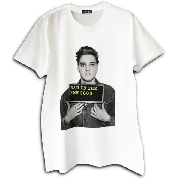 14u δημοφιλής χειροποίητη μπλούζα t-shirt εκτύπωση σταμπομένη για άντρες και γυναίκες ελβίς πρίσλει