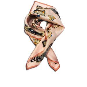CVD.003 14u Hellenic Greek Fashion Brand Colorful Modern stylish trendy scarf silk beautiful Luxury limited
