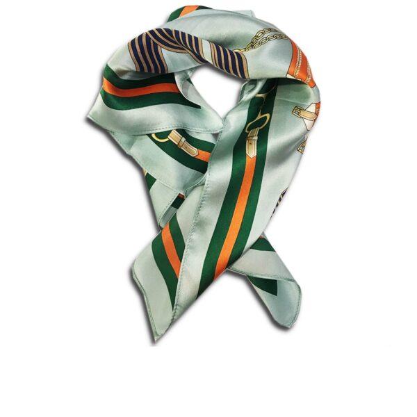 CVD.003B 14u Hellenic Greek Fashion Brand Colorful Modern stylish trendy scarf silk beautiful Luxury limited