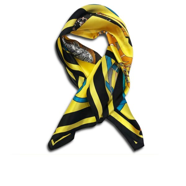 CVD.003C 14u Hellenic Greek Fashion Brand Colorful Modern stylish trendy scarf silk beautiful Luxury limited