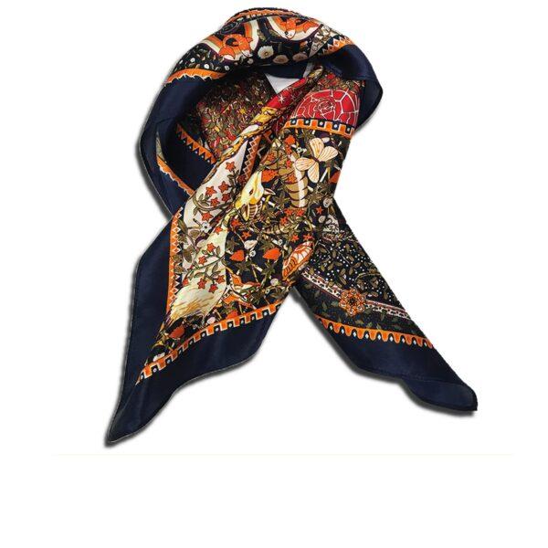 CVD.003D 14u Hellenic Greek Fashion Brand Colorful Modern stylish trendy scarf silk beautiful Luxury limited