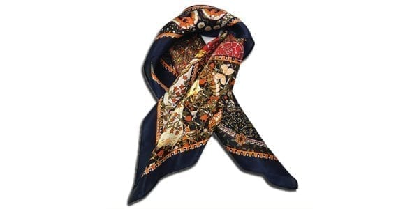 CVD.003 14u clothes accessories silk scarf woman print lux luxury