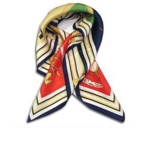 CVD.003E 14u Hellenic Greek Fashion Brand Colorful Modern stylish trendy scarf silk beautiful Luxury limited