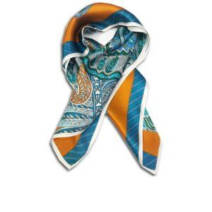 CVD.003F 14u Hellenic Greek Fashion Brand Colorful Modern stylish trendy scarf silk beautiful Luxury limited