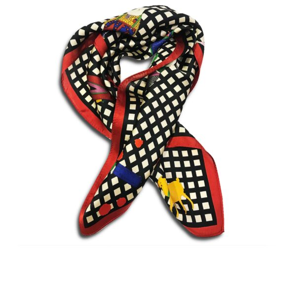 CVD.003G 14u Hellenic Greek Fashion Brand Colorful Modern stylish trendy scarf silk beautiful Luxury limited