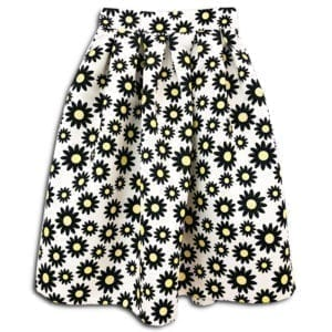 CVD.004A1 14u clothes accessories skirt ballon daisy flowers spring