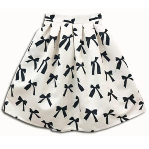 CVD.004A1 14u clothes accessories skirt ballon bow bows present spring