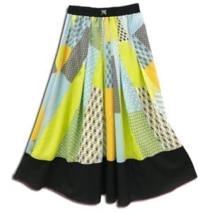 CVD.013A 14u clothes accessories womans woman skirt handmade swarovski print spring summer