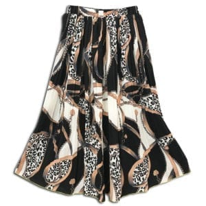CVD.016 14u clothes accessories womans woman skirt handmade swarovski print