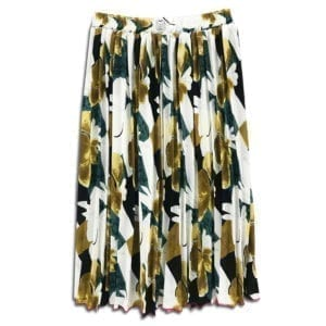 CVD.018 14u clothes accessories womans woman skirt handmade swarovski print