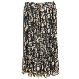 CVD.020A 14u ρούχα αξεσουάρ χαρούμενη φούστα γυναικεία γυναίκα χειροποίητη άνοιξη καλοκαίρι εμπριμέ λουλούδια