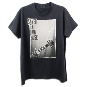 14u clothes accessories handmade tshirt saved by the music print stamp best seller