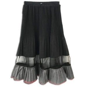 RLX.017 14u ρούχα αξεσουάρ φούστα γυναικεία γυναίκα χειροποίητη άνοιξη καλοκαίρι πολυτελείας μπέζ μαύρη (2)