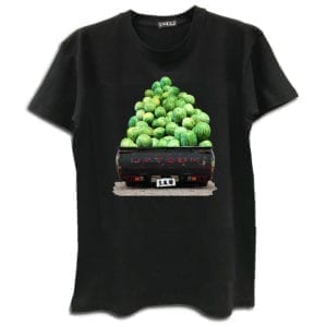 14u digital print clothes accessories tshirt datsun watermelons summer black handmade