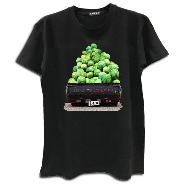 14u ρούχα αξεσουάρ μπλούζα ανδρικό γυναικείο unisex t shirt κεντημένο κρυσταλα swarovski πολυτελείας στάμπα καλοκαιρινή datsun καρπούζια εκτύπωση λογότυπο