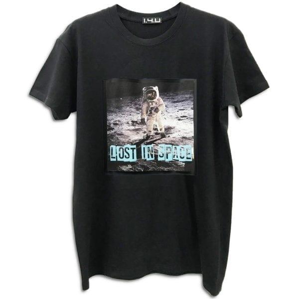 moon space neil armstrong 14u clothes accessories handmade tshirt stamp print tshirt