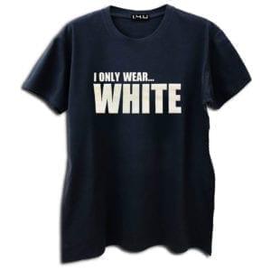 14u clothes accessories tshirt black print stamp popular white