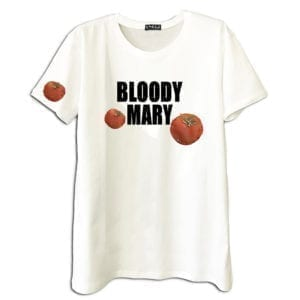 14u clothes accessories tshirt bloody mary cocktail handmade swarovski crystals white