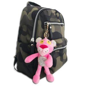 14U Ελληνική εταιρεία ρούχων αξεσουάρ  έξυπνα δώρα έξυπνο δώρο δώρων Λαμπερό αστραφτερό μπρελόκ για τσάντες και κλειδιά  ροζ  πάνθηρας