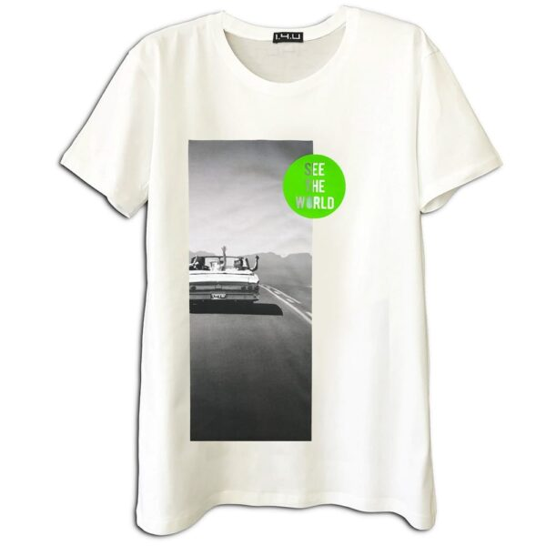 14u ελληνική εταιρεία ρούχα αξεσουάρ μπλούζα ανδρικό γυναικείο unisex t shirt κεντημένο στάμπα καλοκαιρινή εκτύπωση λογότυπο διακοπές εκδρομή ταξίδια ταξίδι λευκό μπλούζα