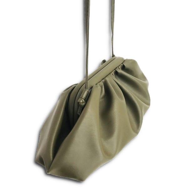 RLX.015 14u ρούχα αξεσουάρ γυναικεία bottega veneta συλλεκτική πολυτελείας τσάντα χειρός μοναδική σταυρώτη τσάντα με καταπληκτικής ποιότητας και υφής δερματίνη συλλεκτική best Seller Τσάντα της χρονιάς