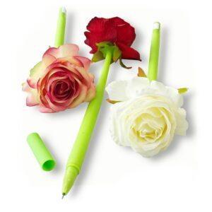 14u ελληνική εταιρεία ρούχων και αξεσουάρ Ελαστικό Στυλό Υφασμάτινο Τριαντάφυλλο έξυπνη έξυπνο ιδέα δώρο δώρα στυλό