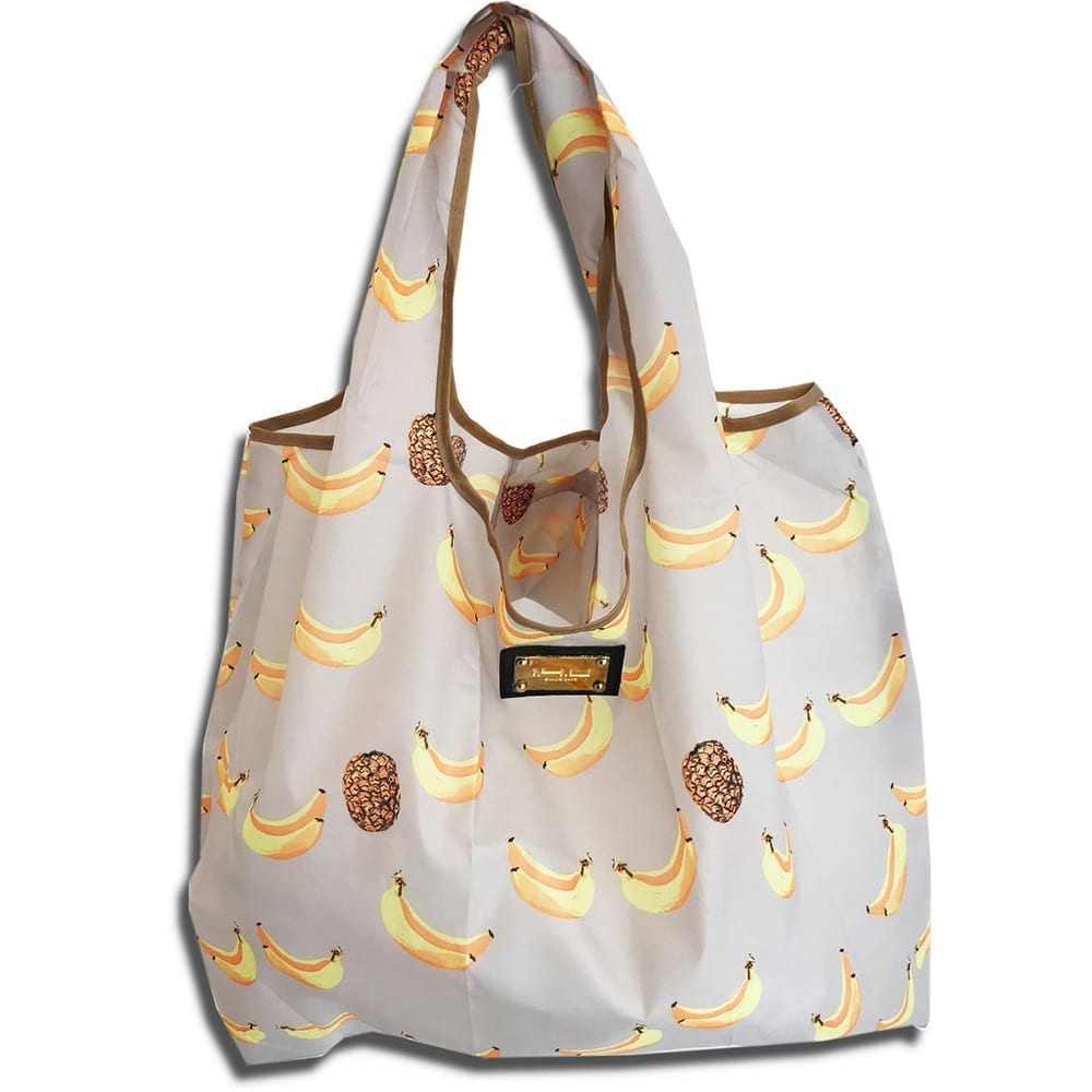 14u ελληνική εταιρεία ρούχων αξεσουάρ bananas Shopping bag Τσάντα αγορών Αναδιπλούμενη ισχυρή αντοχής ποιοτικό ποιοτική οικολογικό φιλικό προς το περιβάλλον Πολύχρωμο πολύχρωμη χαρούμενα χρώματα μεγάλο ελαφρύ ανθεκτικό γενικής  χρήσης