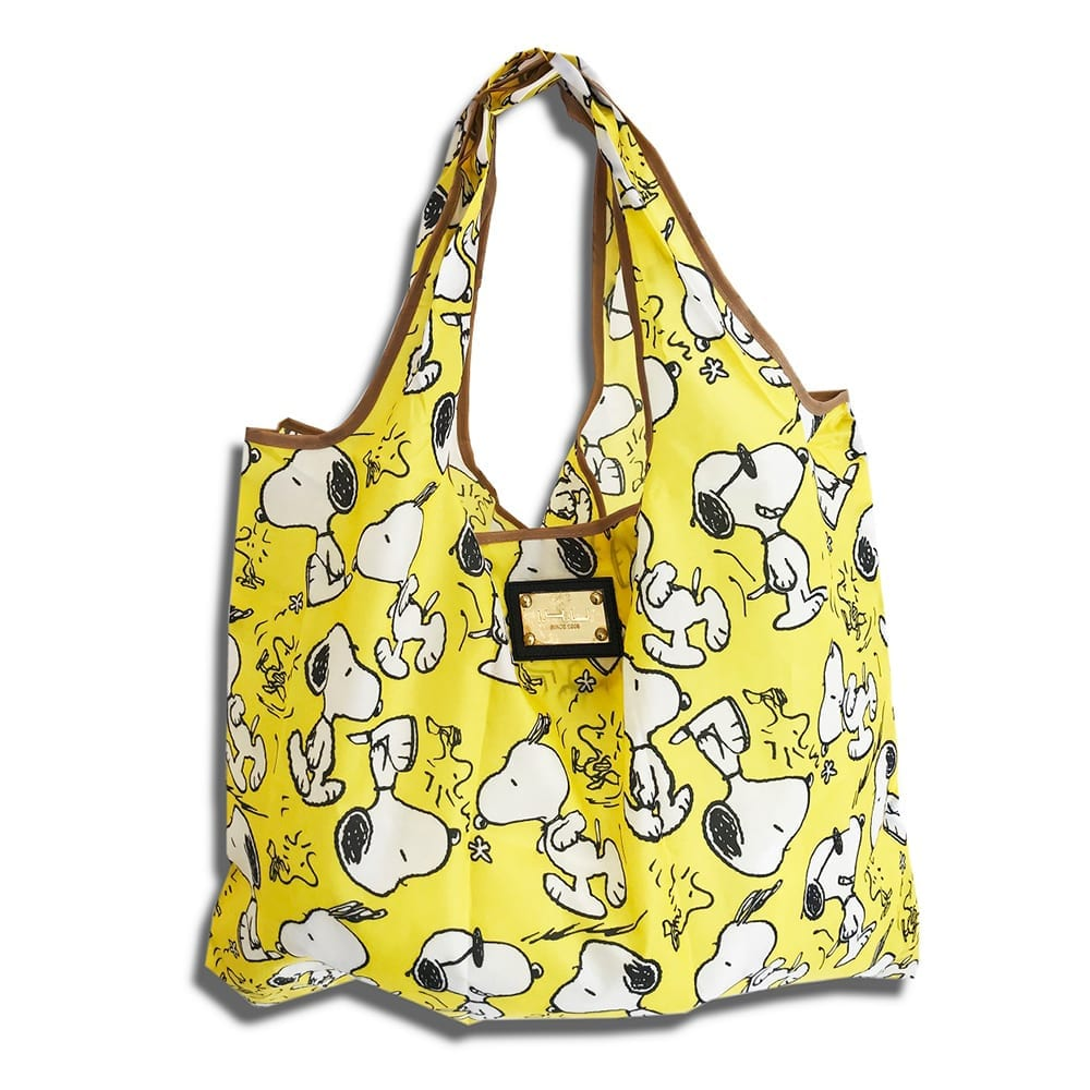 14u ελληνική εταιρεία ρούχων αξεσουάρ Snoopy Shopping bag Τσάντα αγορών Αναδιπλούμενη ισχυρή αντοχής ποιοτικό ποιοτική οικολογικό φιλικό προς το περιβάλλον Πολύχρωμο πολύχρωμη χαρούμενα χρώματα μεγάλο ελαφρύ ανθεκτικό γενικής  χρήσης