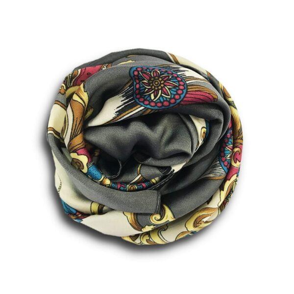 CCR.048a 14u ελληνική εταιρεία ρούχων αξεσουαρ φουλάρι fashion εμπριμέ  άνοιξη καλοκαίρι θετική ενεργεια style γυναικείο γυναίκα υπέροχο όμορφο όλη μέρα νύχτα καθημερίνο αμπιγιέ designer