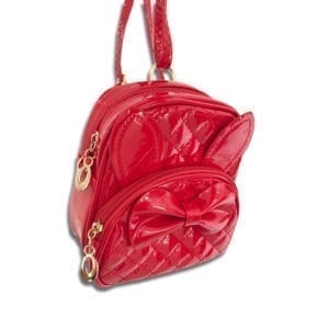 CCR.053B 14u clothes accessories greek designers brand gils beautiful luxurius backpack red