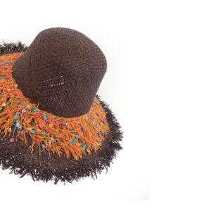 CRG.192F 65 14u Hellenic Fashion Brand Colorful Modern stylish trendy straw hat paper cotton beautiful Luxury limited Style woman gift exclusive (3)
