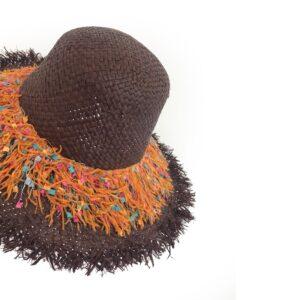 CRG.192F 65 14u Hellenic Fashion Brand Colorful Modern stylish trendy straw hat paper cotton beautiful Luxury limited Style woman gift exclusive (4)