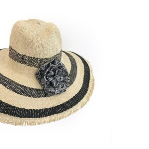 CRG.192G 59 14u Hellenic Fashion Brand Colorful Modern stylish trendy straw hat paper cotton beautiful Luxury limited Style woman gift exclusive