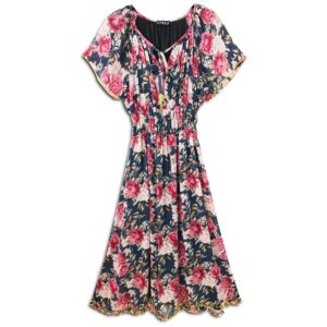 CVD.028 14u clothes accessories hellenic greek brand dress fashion floral spring summer flowers good vibes style ladies beautiful awesome all day all night formal informal designer romantic vintage