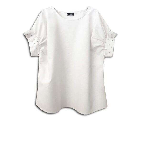 CVD.030a 14U ελληνική εταιρεία ρούχων αξεσουαρ τοπάκι μπλούζα τοπ χειροποίητο fashion μονόχρωμο άνοιξη καλοκαίρι θετική ενεργεια style γυναικείο γυναίκα υπέροχο όμορφο όλη μέρα νύχτα καθημερίνο μαριχουάνα λινό swarovski κρύσταλλα