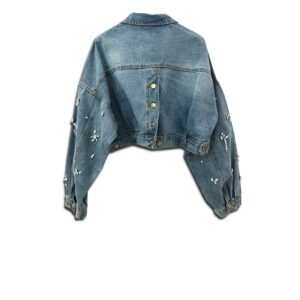 CVD.032 14u clothes accessories hellenic greek brand clothes accessories handmade denim jean jacket unique short swarovski crystals exclusive quality limited edition best product (2)
