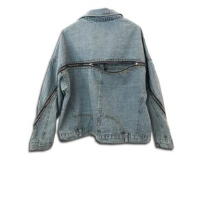 CVD.052A 14u clothes accessories greek brand clothes accessories handmade denim jean jacket unique swarovski exclusive quality limited edition best product