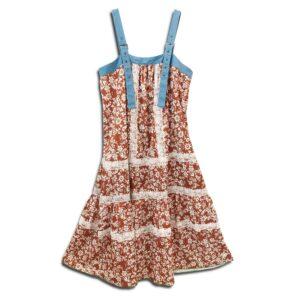 CVD.054 14U Helenic Greek Fashion Brand Handmade Summer Dress embellishment Swarovski oversized easy styling streetwear leisurewear loose fitting