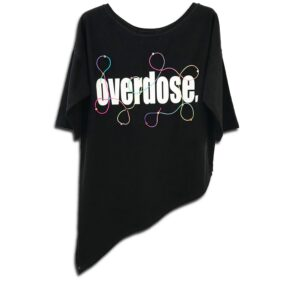 M80.06W 14u hellenic greek fashion brand handmade cotton top oversized overdose handmade with swarovski crystals all time classic best seller