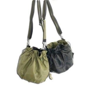 RLX.014 14u ελληνική εταιρεία ρούχων και αξεσουάρ γυναικεία σταυρωτή τσάντα ώμου διπλής όψης υπέροχα χρώματα για όλη την ημέρα