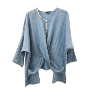 RLX.107 14U ελληνική εταιρεία ρούχων αξεσουαρ τοπάκι μπλούζα τοπ χειροποίητο fashion μονόχρωμο άνοιξη καλοκαίρι θετική ενεργεια style γυναικείο γυναίκα υπέροχο όμορφο όλη μέρα νύχτα καθημερίνο ευκολοφόρετο με κουμπιά