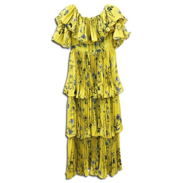 14u ελληνική εταιρεία ρούχων αξεσουαρ φόρεμα fashion Εξωτικό Φλοράλ Πλισέ Κρεπ Πολυτελές Φόρεμα Εμπριμέ Φόρεμα vintage άνοιξη καλοκαίρι θετική ενεργεια style γυναικείο γυναίκα υπέροχο όμορφο νύχτα αμπιγιέ designer