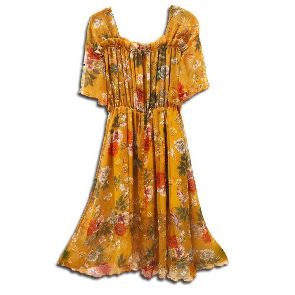 CRG.020 14u ελληνική εταιρεία ρούχων αξεσουαρ φόρεμα fashion ρομαντικό Εμπριμέ Φόρεμα vintage άνοιξη καλοκαίρι θετική ενεργεια style γυναικείο γυναίκα υπέροχο όμορφο όλη μέρα νύχτα καθημερίνο αμπιγιέ designer